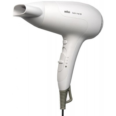 Фен Braun HD 380 Satin Hair 3, белый