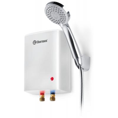 Проточный электрический водонагреватель Thermex Surf 5000, душ