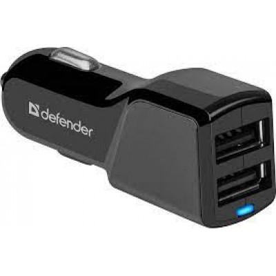 Автомобильное зарядное устройство 2xUSB для телефона 5V/3.4А